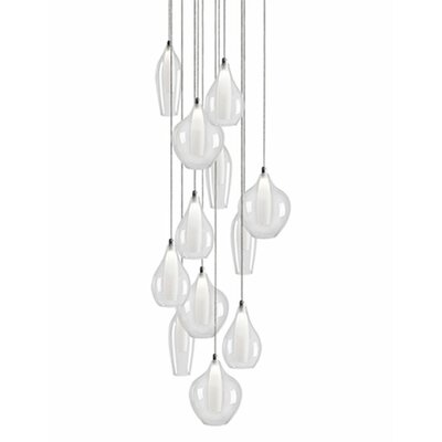 City Chic 12-Light Cascade Pendant