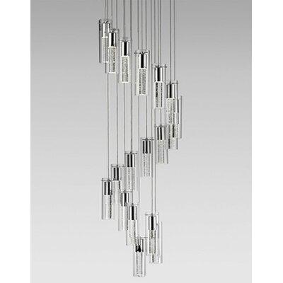 Monroe 18-Light Cascade Pendant