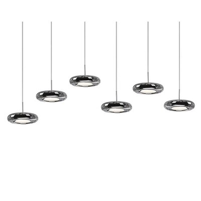Inspire 6-Light Cascade Pendant