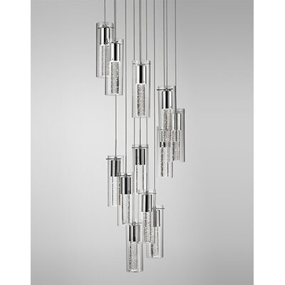 Monroe 12-Light Cascade Pendant
