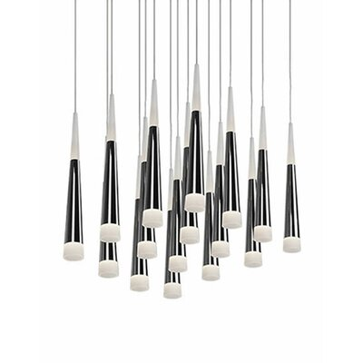 City Chic 16-Light Cascade Pendant