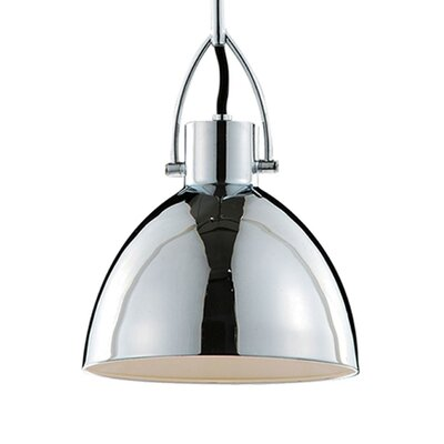 Babell 1-Light Bowl Pendant Size: 15.75 H x 11.75 W x 11.75 D
