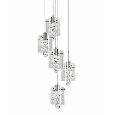 Flora 5-Light Cascade Pendant