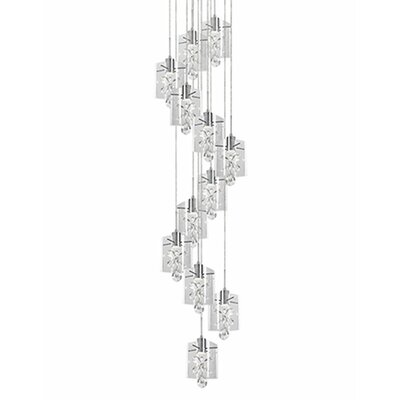 Flora 12-Light Cascade Pendant