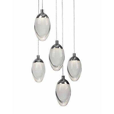 Drop 5-Light Cascade Pendant