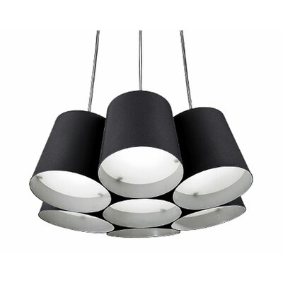 Brookside 1-Light Pendant Finish: Black