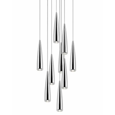 Morris 9-Light Cascade Pendant