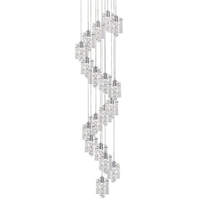Flora 18-Light Cascade Pendant