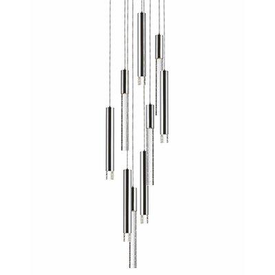 Kara 9-Light Cascade Pendant