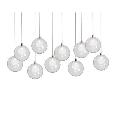 City Chic 10-Light Cascade Pendant