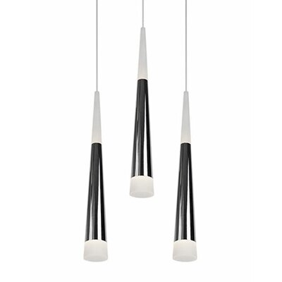 City Chic 3-Light Cascade Pendant