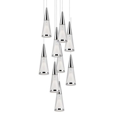 Daniella 9-Light Cascade Pendant