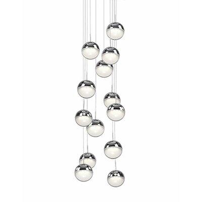 Tabora 13-Light Cascade Pendant