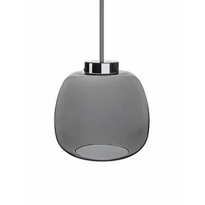 Payton 1-Light Mini Pendant Shade Color: Brushed Nickel