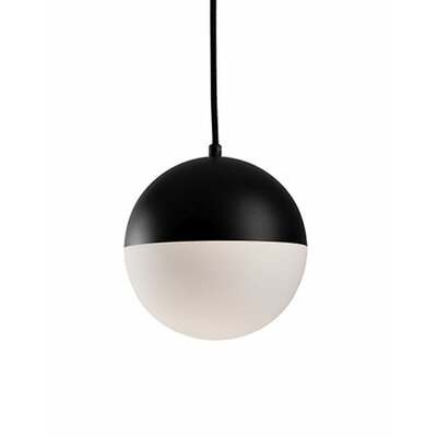 Retro 1-Light Globe Pendant Size: 79.8 H x 7.8 W x 7.8 D