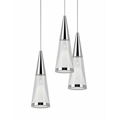 Daniella 3-Light Cascade Pendant