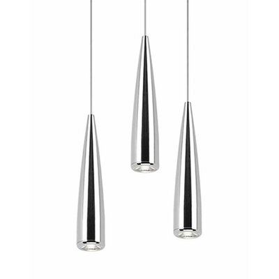 Morris 3-Light Cascade Pendant