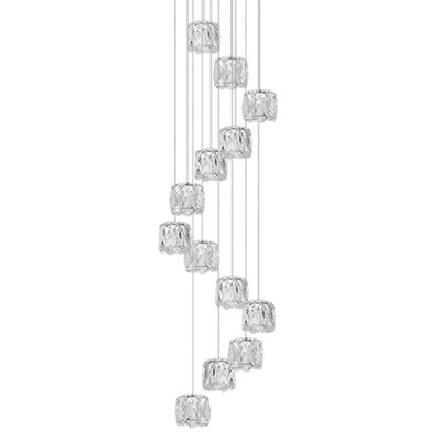 Spectrum 13-Light Cascade Pendant