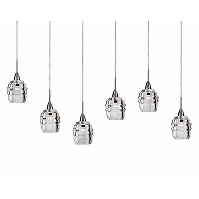 Ellen 6-Light Cascade Pendant