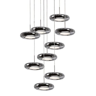 Inspire 9-Light Cascade Pendant