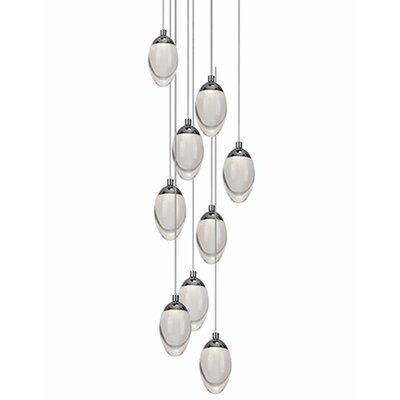 Drop 9-Light Cascade Pendant