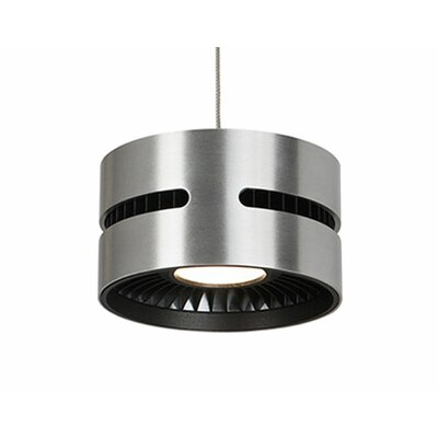Ultra 1-Light Drum Pendant Shade Color: Brushed Nickel