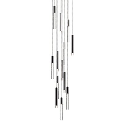 Kara 13-Light Cascade Pendant