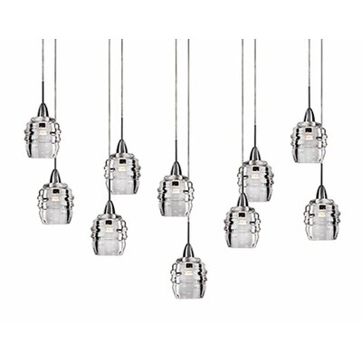 Ellen 10-Light Cascade Pendant