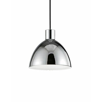 Babell 1-Light Bowl Pendant Shade Color: Chrome, Size: 6.3 H x 6.25 W x 6.25 D