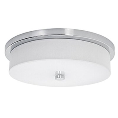 Stephanie 1-Light Flush Mount Size: 2.38 H x 11.75 W x 11.75 D