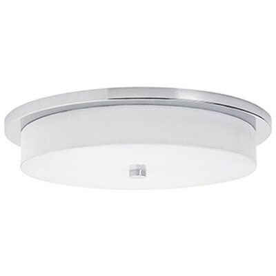 Stephanie 1-Light Flush Mount Size: 2.38 H x 15.75 W x 15.75 D