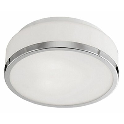 Stephanie 3-Light Flush Mount Base Finish: Chrome