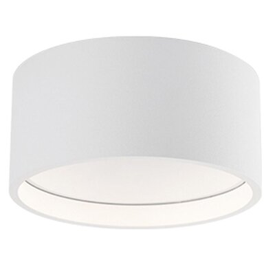 Heather 1-Light Flush Mount Size: 2 H x 4.75 W x 4.75 D