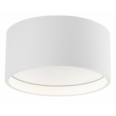 Heather 1-Light Flush Mount Size: 2'' H x 5.5'' W x 5.5'' D