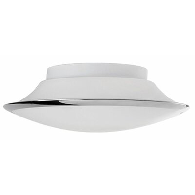 Heather 1-Light Flush Mount Size: 3.5 H x 11.8 W x 11.8 D