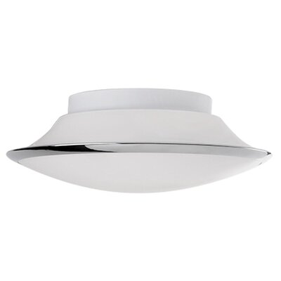 Heather 1-Light Flush Mount Size: 4.33 H x 13.33 W x 13.33 D