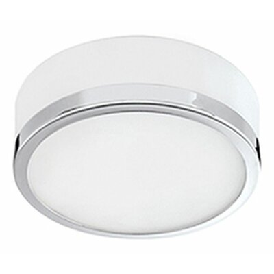 Heather 1-Light Flush Mount Finish: Chrome