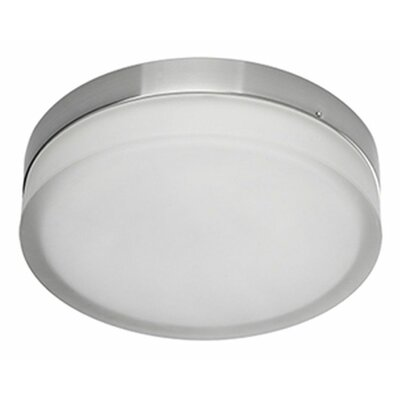 Heather 1-Light Flush Mount Size: 2.5 H x 11 W x 11 D