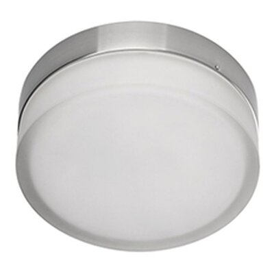 Heather 1-Light Flush Mount Size: 2.5 H x 6 W x 6 D