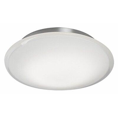 Heather 1-Light Flush Mount Size: 2.5 H x 10.5 W x 10.5 D