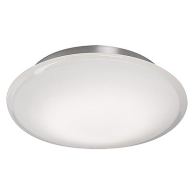 Heather 1-Light Flush Mount Size: 2.75 H x 12 W x 12 D