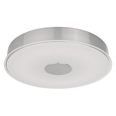 Heather 1-Light Flush Mount Size: 2.5 H x 15.5 W x 15.5 D
