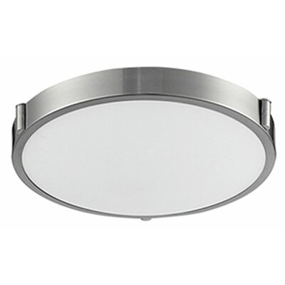 Stephanie 1-Light Flush Mount Size: 3 H x 13 W x 13 D