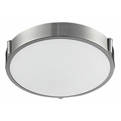 Stephanie 1-Light Flush Mount Size: 3 H x 11 W x 11 D