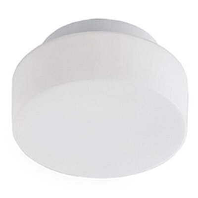 Heather 1-Light Flush Mount Size: 3 H x 8 W x 8 D