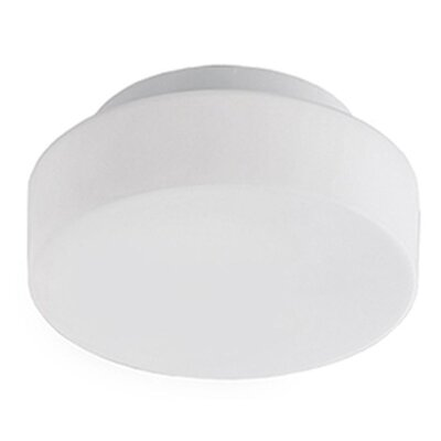 Heather 1-Light Flush Mount Size: 3 H x 10 W x 10 D