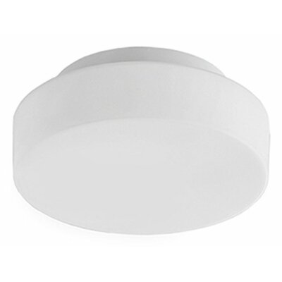 Heather 1-Light Flush Mount Size: 3.5 H x 11.5 W x 11.5 D
