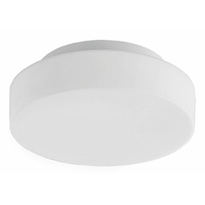 Heather 1-Light Flush Mount Size: 4 H x 16 W x 16 D
