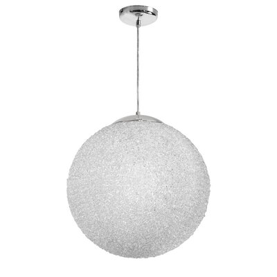 Bolla 2-Light Pendant Shade Color: Clear