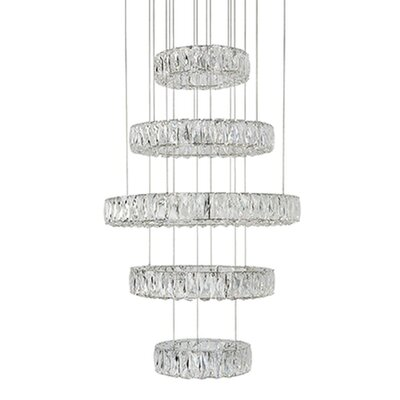Spectrum 5-Light Crystal Chandelier